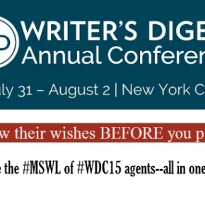 The Writers Digest Pitch Slam Agents